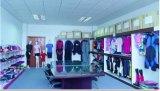 Traje de baño de las mujeres de la tela de Lycra de la protección solar y juego de Sweimdress y de Waterwear