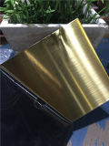 Heißes Selling 4*8FT Standard Size Hairline Metal Sheet Made in China