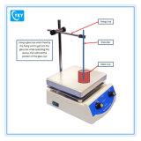 Agitador magnético del laboratorio de Digitaces de la temperatura constante con la placa caliente