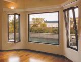 La venta caliente Brown de aluminio Inclinar-Da vuelta a la ventana para el chalet