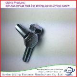 Boulon Hex de haute résistance galvanisé 8.8 de DIN931 DIN933
