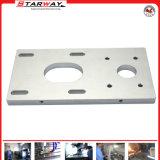Pieza de aluminio de la precisión del ODM con trabajar a máquina del CNC