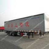 半Tri AxlesヴァンBody Truck貨物ボックストレーラー