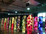 Sinal de anúncio interno afiado do diodo emissor de luz do vídeo de cor cheia HD P3 pólo claro