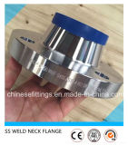 溶接首のステンレス鋼はANSI Ss304 Ss316のフランジを造った