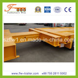 6axle Retractable Lowbed Semi Trailer
