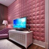 居間TVの背景のための音響の装飾的な3D壁のボード
