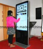 """46 """" 1개의 PC 접촉 다중 매체 정보 LCD 대화식 간이 건축물에서 전부"""