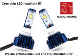 Обломок СИД Headlight/LED CREE с света 6000k 4800lm H7 дороги Light/LED управляя
