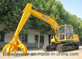 Excavatrice de chenille de Shandong 15ton avec Grasper pour la mitraille contagieuse
