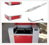 Stich-Ausschnitt-Maschine 6090 der China-Fertigung-niedrige Kosten 900*600mm Laser-80W