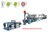 Ligne machine d'extrusion de câble de fil de garantie de construction d'extrusion
