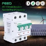 Campioni liberi! Applicazione solare 2p, 3p, 4p 10A, 16A, mini interruttore MCB del Ce IEC60947 di CC di 20A 12VDC-1000VDC