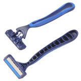 Dreifaches Blade Disposable Shaving Razor Compete mit Derby (KL-X301L)