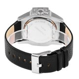 6838 Big Dial Wristwatch Quartz Multi-Function Ss Buckle Leather Strap