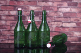 Glasflasche mit Schwingen-Oberseite für Bier, Wasser, Saft
