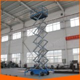 Levage extérieur hydraulique de ciseaux pour le travail élevé avec la pente de sûreté