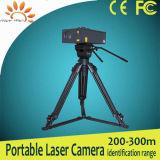 300 m Policial usa câmera fotográfica portátil de visão noturna