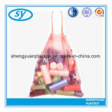 Мешок отброса Drawstring чистого HDPE содержания большой емкости пластичный