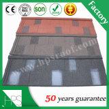 ケニヤの石造りの上塗を施してある金属の屋根瓦の熱い販売