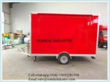 Nuevos carros móviles del alimento para la venta en China con Ce