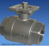 2PC Kogelklep met ISO5211