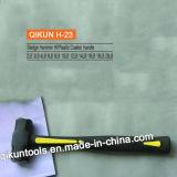 H-24ガラス繊維のハンドルのそりハンマー