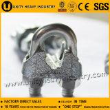 Type clip DIN 741 de câble métallique