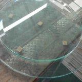 بشكل غير عاديّ قسم بلورة واضحة زجاجيّة [إيرغلر] شكل [أولترا] يليّن زجاج