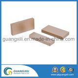 N42 Ni-Cu-Ni Plaqué Grand NdFeB Block Magnets pour Industrie