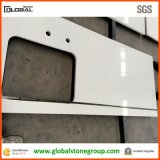White puro Quartz Stone Counter Tops con Solid Surface