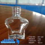 De Fles van het Nagellak van de Ambacht van het Glas van de Vorm van Pentagram