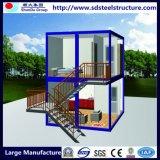 Vorfabriziertstahlkonstruktion-expandierbares Behälter-Haus mit Sonnenkollektoren