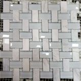 Splashbackのための建物の装飾のガラスモザイク