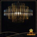 De Verlichting van de Kroonluchter van het Roestvrij staal van het Project van het hotel (KAP6012)