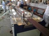 El PE de madera perfila la cadena de producción/la línea de la protuberancia para el suelo/la losa