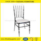 ステンレス鋼のナポレオンの椅子によってカスタマイズされる結婚の椅子