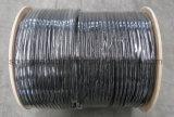 Écran protecteur coaxial de liaison du câble Rg59 de perte inférieure tri