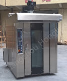 Forno commerciale della cremagliera del macchinario di cottura con il carrello (fabbrica reale)