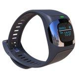 0.96インチOLED IP65は二重バンドBluetooth及びダイナミックな心拍数、ECGの血圧、スリープモニタのスマートな腕時計を防水する