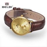 Het Paar van Belbi modelleert Mannen de Bedrijfs van Horloges en de Vrouwen vormen de Toevallige Eenvoudige Waterdichte Horloges van de Liefde