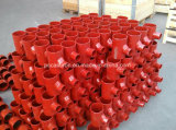 Garnitures enduites d'époxyde rouges de drain de fer de moulage de Sml
