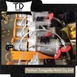 220V mini élévateur électrique 100kg, mini prix électrique d'élévateur de câble métallique de PA500 PA200