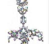 화려한 다이아몬드 주옥을%s 가진 Decoraton 바디 보석