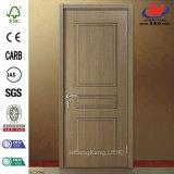 Piel interior blanca de madera de la puerta de la melamina (JHK-MN10)