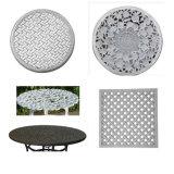 테이블과 의자를 위한 모래 주조 알루미늄