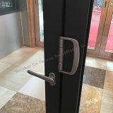 Portello di alluminio di alta qualità di vetro del doppio del portello di piegatura di G&F Jinfu