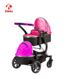 Veilige en Luxueuze Versie van Twee-Zetel De Kinderwagen