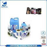 Kundenspezifischer wasserdichter anhaftender Shampoo-Aufkleber-Kennsatz für Flasche