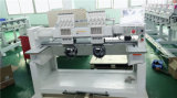 Máquina principal funcionada automática del bordado 2 para Snapbackhat y camisas planas del fútbol en Ecuador
